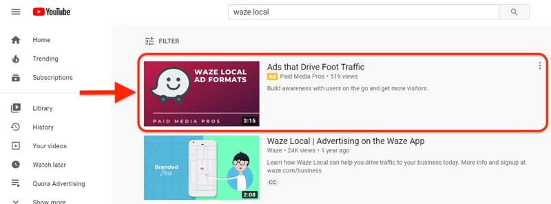 YouTube TrueView广告揭开神秘面纱