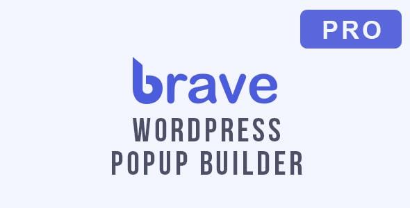 WP插件-Brave Popup Builder弹窗生成器