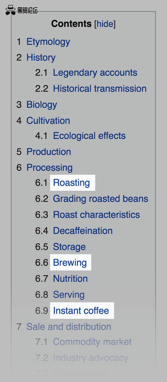 维基百科 – 内容关键词