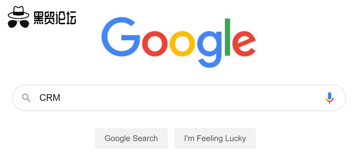 """谷歌搜索——""""客户关系管理"""""""