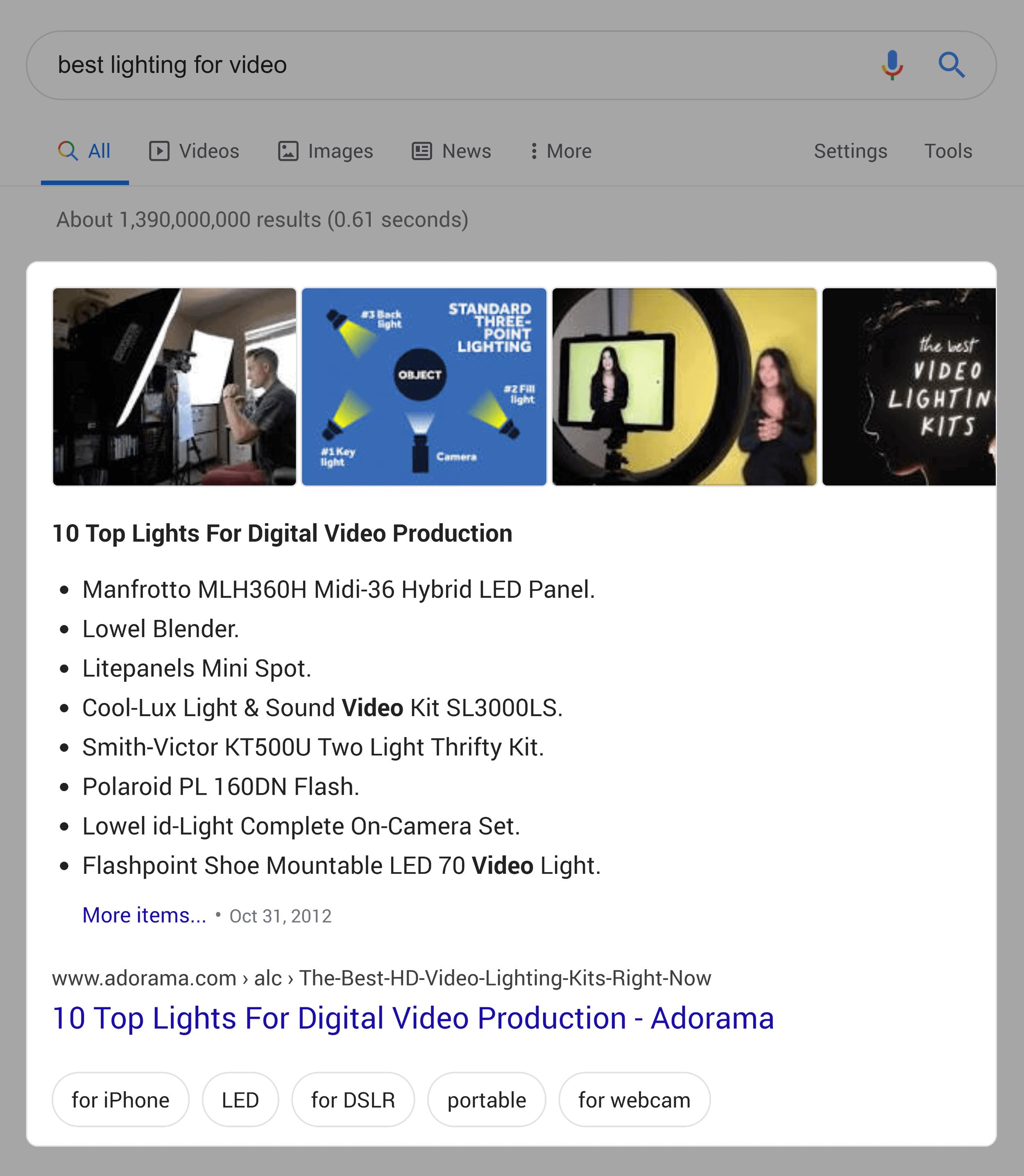 谷歌精选片段