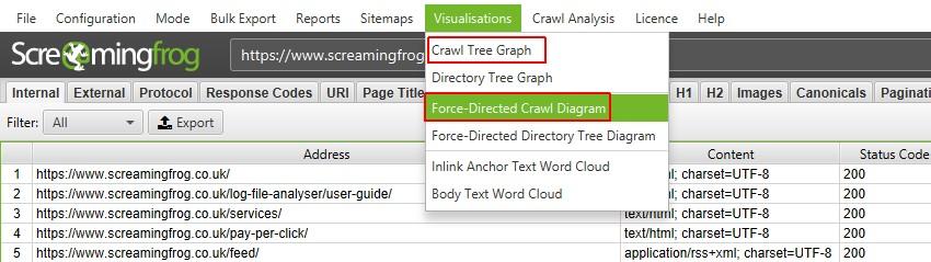 网站架构和抓取可视化指南