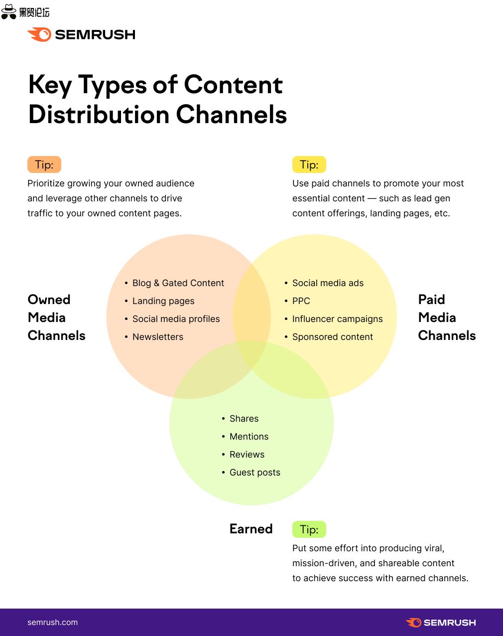 内容分发渠道的主要类型