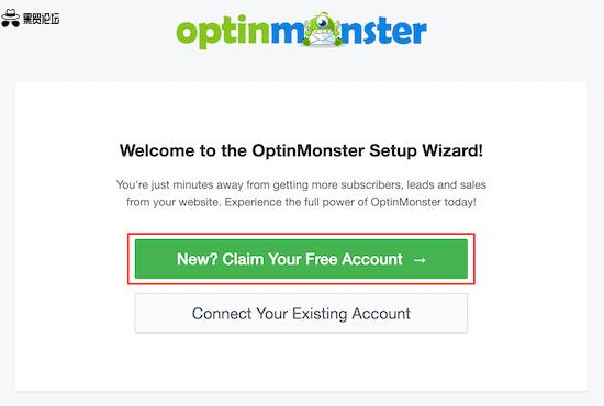 OptinMonster 设置向导