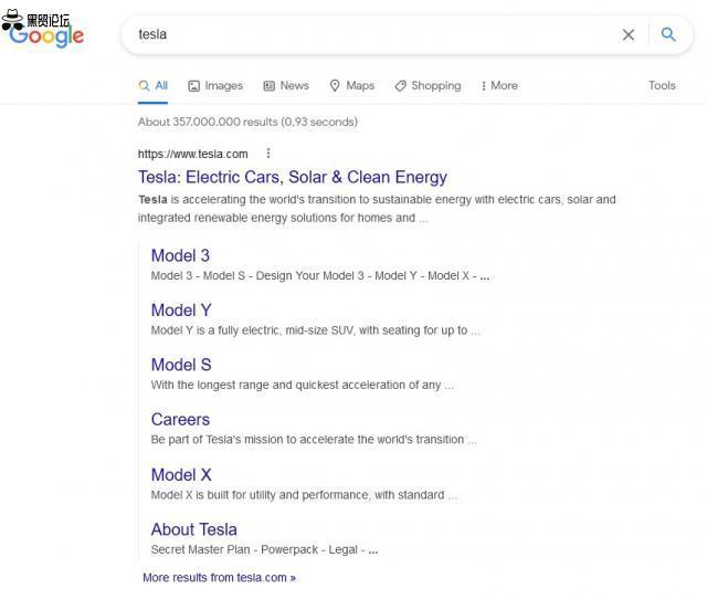 谷歌测试垂直线附加链接