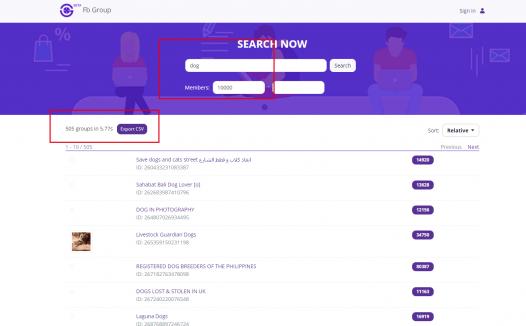 免费搜刮FB群组工具-帮你发现活跃的小组
