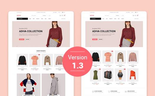 Adiva –电子商务WordPress主题2.6