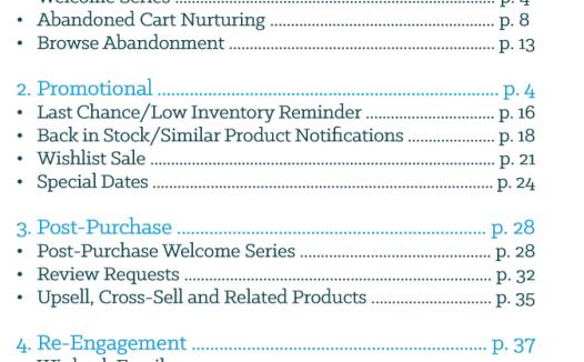 12个自动化电子邮件营销活动来推动电子商务的收入