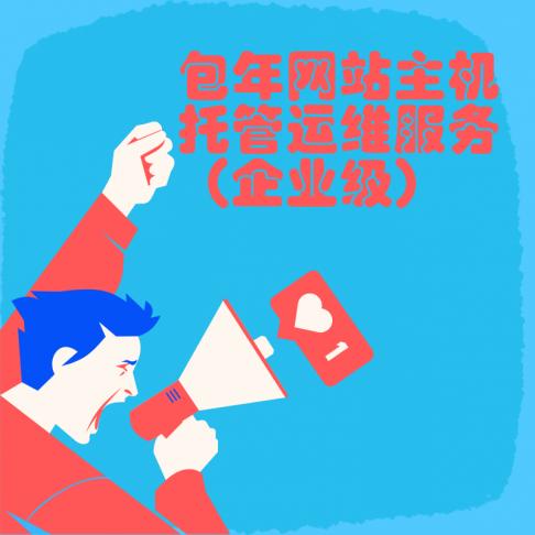包年网站主机托管运维服务(企业级)